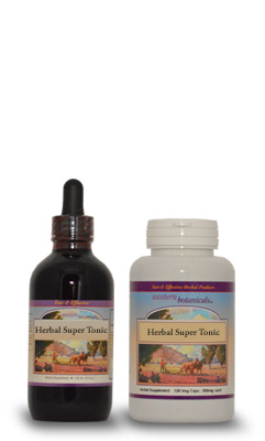 Herbal Super Tonic (Vegetarian Capsules)