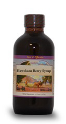 Hawthorn Berry Syrup